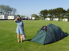leisure, tent, camping,