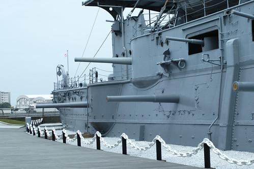 Port side secondary gun by leicadaisuki