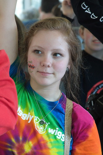 Kelsey at Walk MS 2012 by The Bacher Family