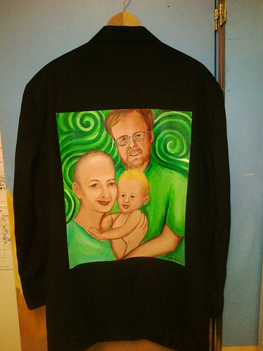 """Raising Baby Greene"" A jacket for Alan Greene"