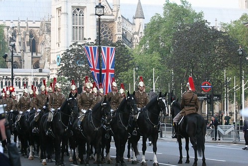 Mounted escort
