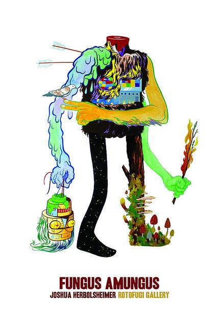 Josh Herbolsheimer Fungus Amungus Show