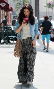 Jenna Dewan Denim Shirt Celebrity Style Woman's Fashion