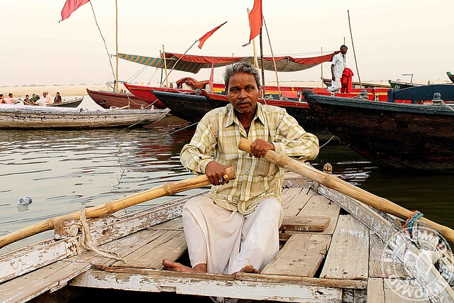 The Sandy Banks of Ganges River -  Varanasi Boat Tour