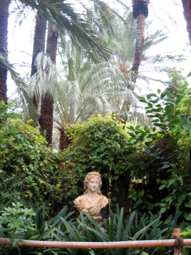 Busto de la Emperatriz Sissi.