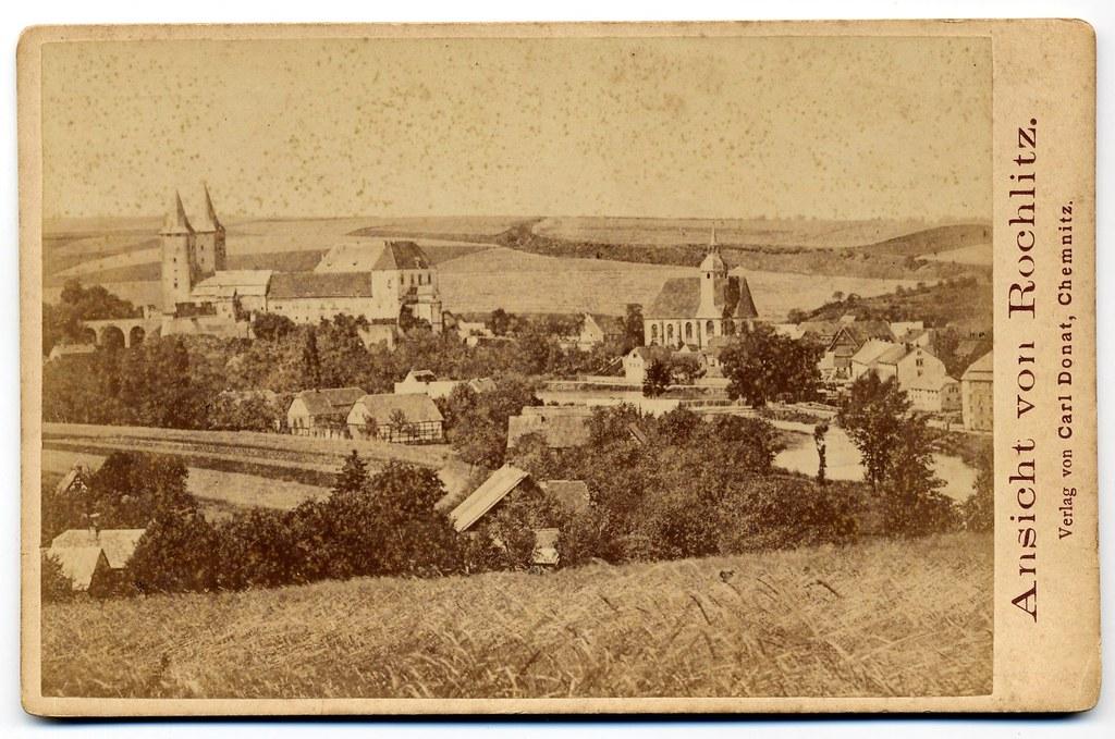 Carl Donat, Chemnitz - Town Rochlitz in Saxony