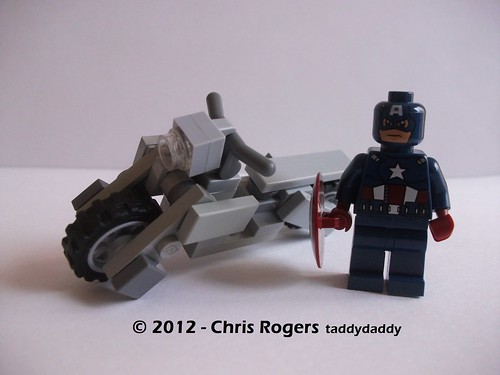 Lego Captain America Bike 1