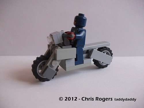 Lego Captain America Bike 6