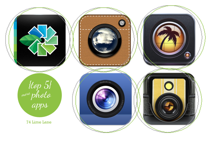{top 5} more -~iphoto apps