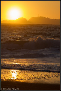 Baker Beach Sunset