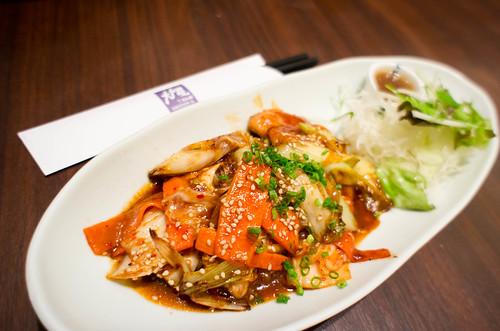 Japanese's kimchi pork