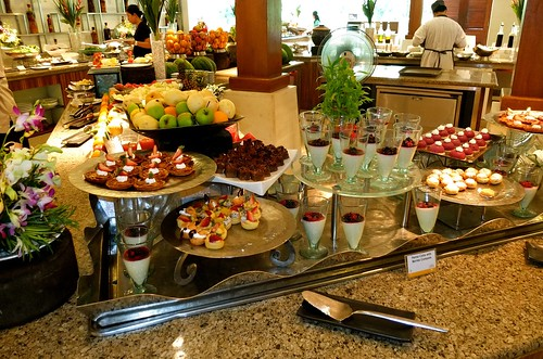 our last buffet spread, sob!