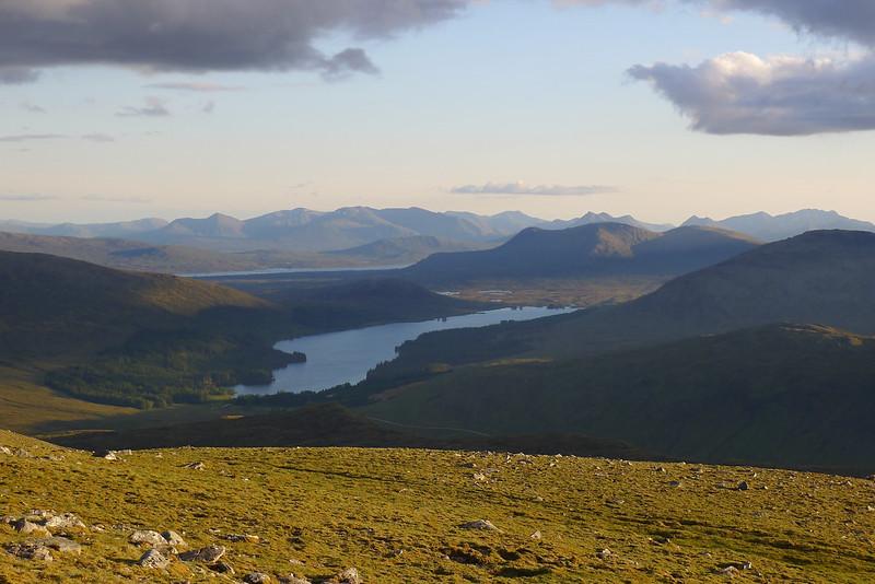 Loch Ossian at dusk