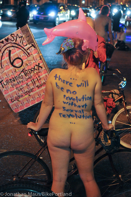 2012 World Naked Bike Ride - Portland-44