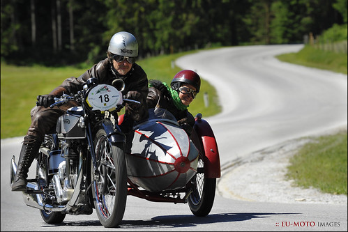 Sidecar Tauplitzalm Bergpreis Motorräder (c) 2012 Бернхард Эггер :: ru-moto images 7310