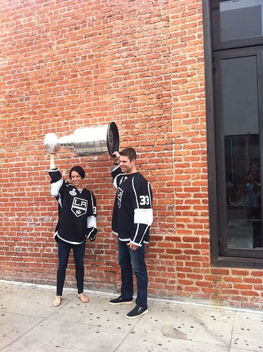 Willie Mitchell Brings the Stanley Cup Home to Venice