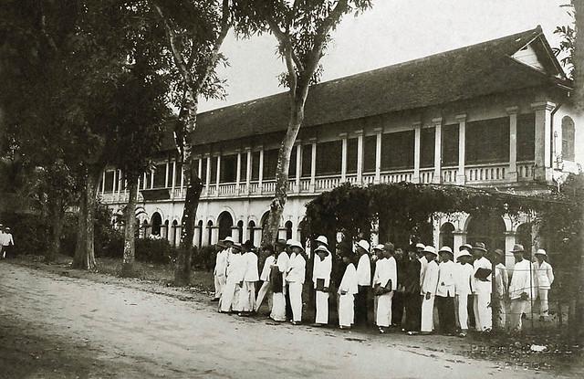 Saigon vers 1930 - Ecole des Arts Appliqués à Gia Dinh