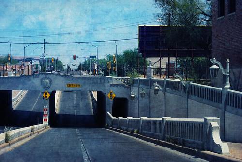 road street bridge arizona texture drive tucson textures textured texturized