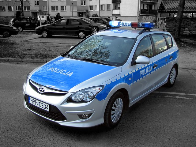 hyundai i30 poland police car flickr photo sharing. Black Bedroom Furniture Sets. Home Design Ideas