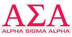 Alpha Sigma Alpha logo
