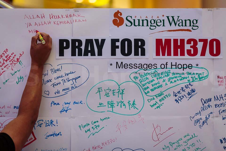 Pray For MH370 @ Kuala Lumpur, Malaysia