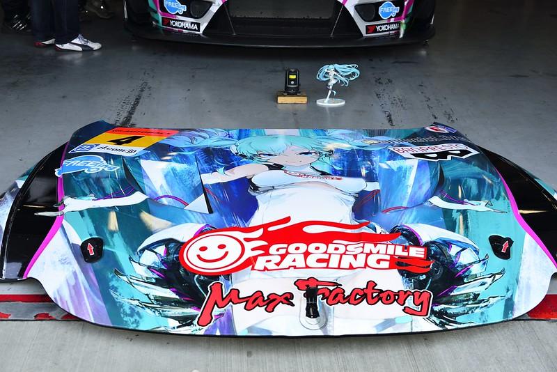 富士スピードウェイ スーパーGTメーカー合同テスト