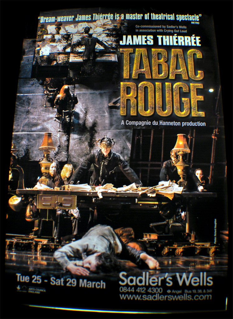 Affiche TABAC ROUGE