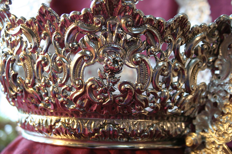 Corona de Nuestra Señora de las Angustias. Iglesia de San Pablo, Cádiz