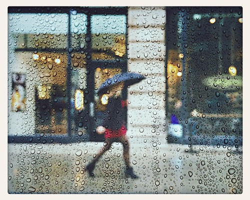 rain at Flatiron District