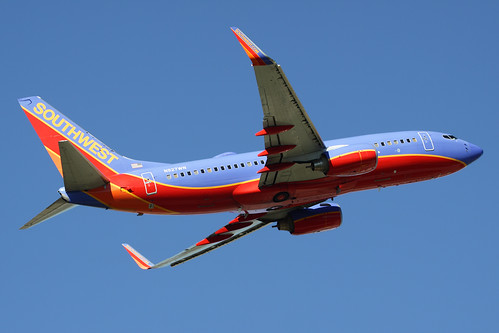 Southwest Airlines Boeing 737-7H4...