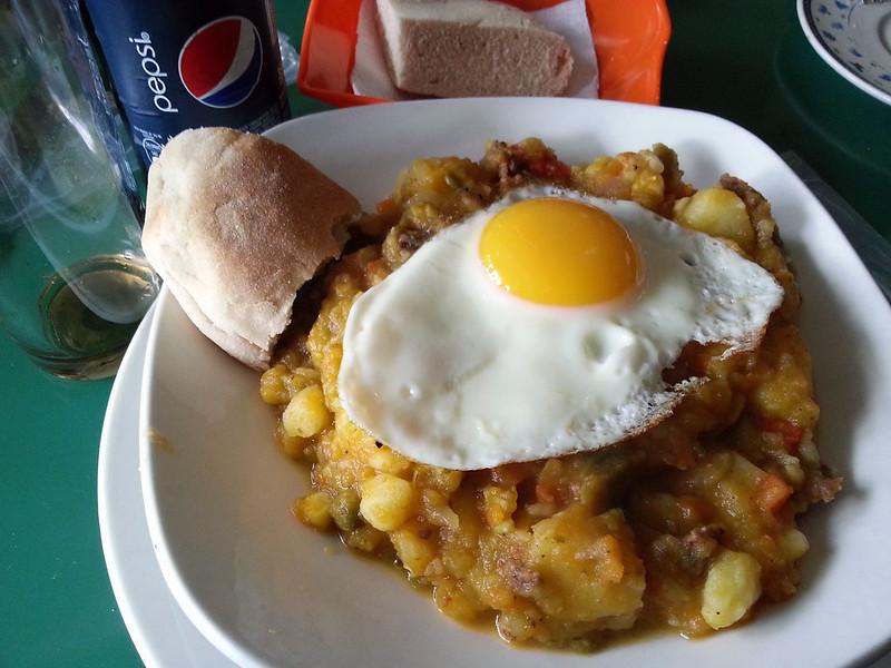 charquican con huevo 2