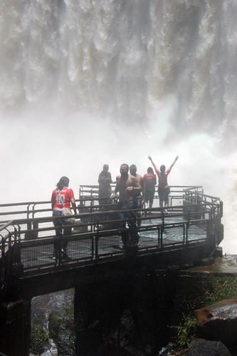 Iguazu Falls in northeast Argentina