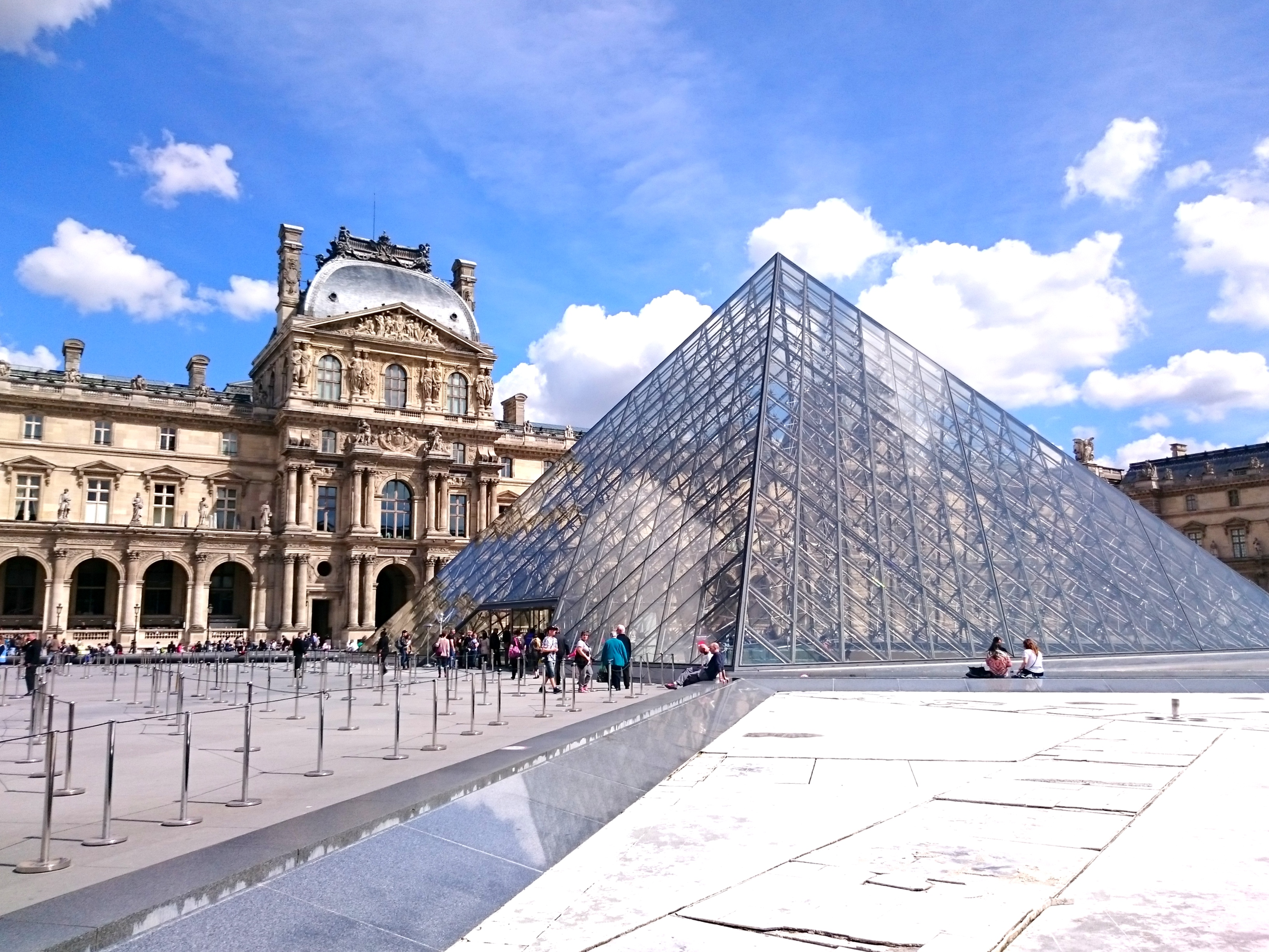 Louvre outside
