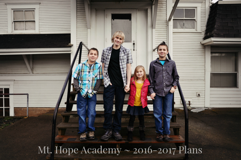 Mt. Hope Academy - 2016-2017 Plans @ Mt. Hope Chronicles