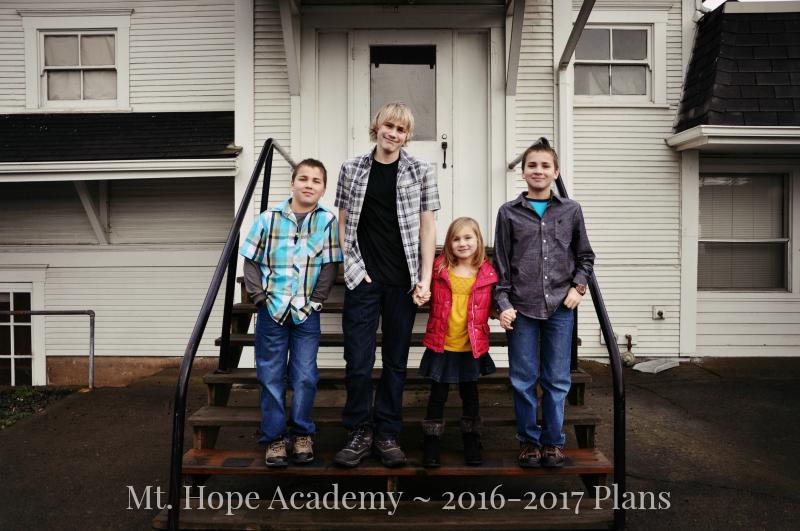 Mt. Hope Academy - 2016-2017 Plans @ Mt. Hope Chronicles