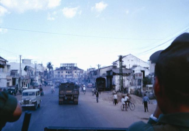 SAIGON 1966 - Đường Võ Tánh, phía trước là Ngã tư Phú Nhuận