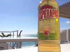 A few years back. Sipping on an ice cold Desperados under the hot sun in Cagnes-sur-Mer, France. It was a good day. Desperados Beer Tequilla Cagnes Sur Mer Côte D'Azur Riviera Beachwalk France