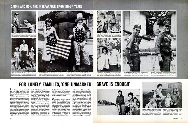 LIFE Magazine March 12, 1965 (3) - FOR LONELY FAMILIES, 'ONE UNMARKED GRAVE IS ENOUGH'