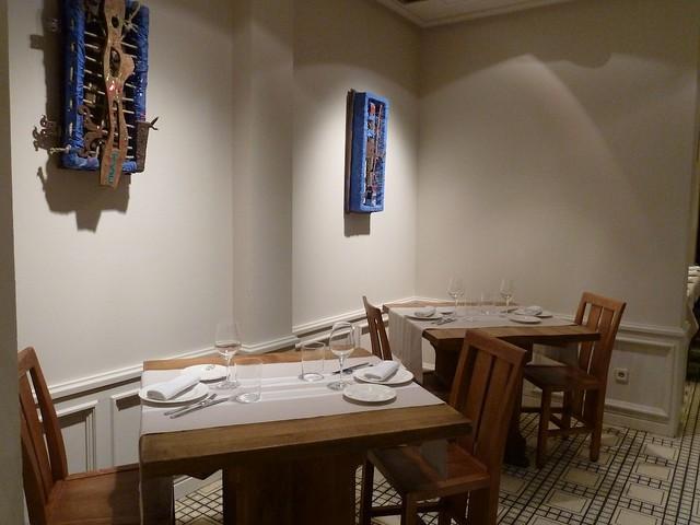 Detalle del Restaurante Sagardi de Euskal Etxea