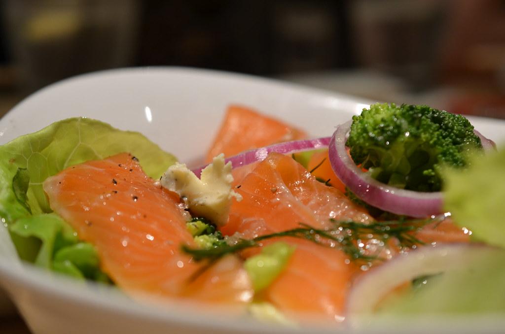 Masuya Salmon salad