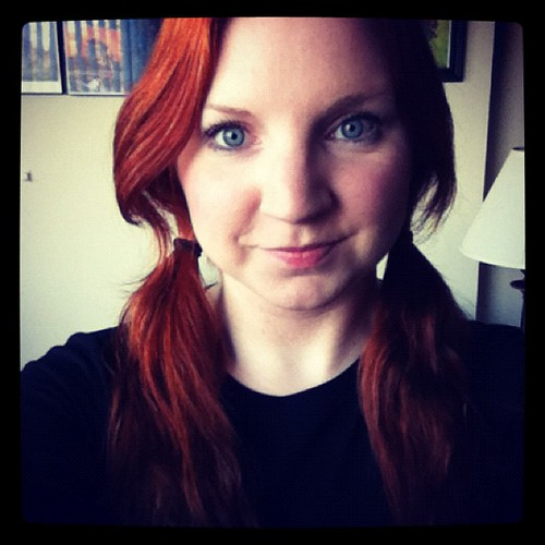 Pigtails! #ginger #pigtails