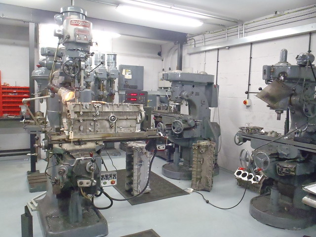 TVR Power machine shop
