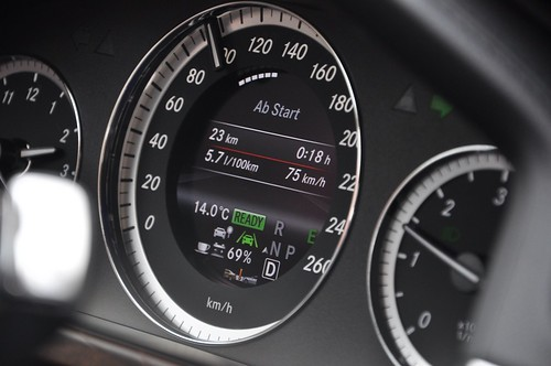 5,7l auf 100km mit dem E300 BlueTEC Hybrid
