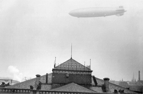 "Zeppelin LZ 129 ""Hindenburg"" am 28.3.1936"