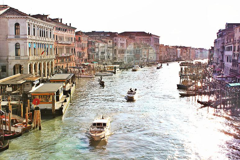 Venice day 2 grand canal morning