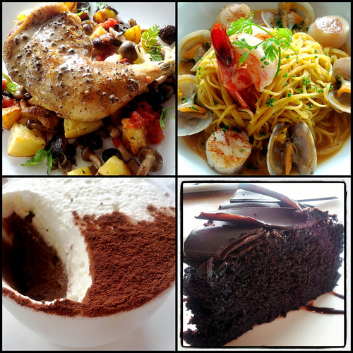 The Red Beanbag, Publika - mains and dessert