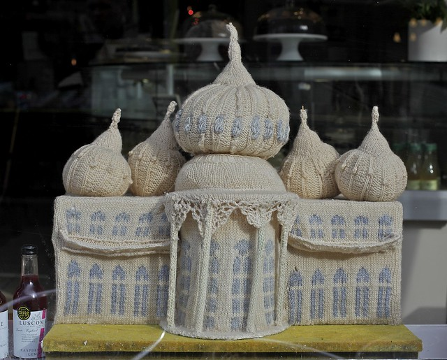 A knitted Brighton Pavilion