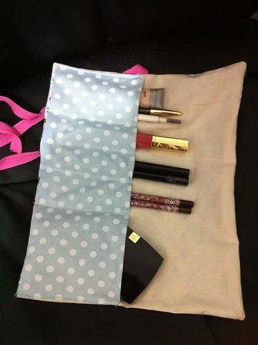 Make up pouch for Maria~ by Yomi-Handmade