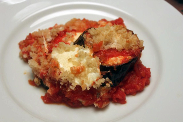 ... Ultimate Eggplant Parmesan–does something most Eggplant Parmesan