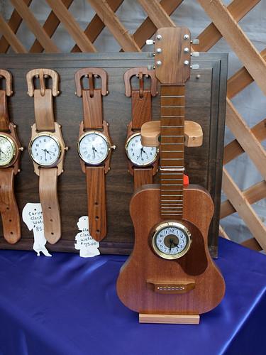 Ukulele clock by David Hansen